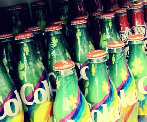 cocacola, coke, and colorful image