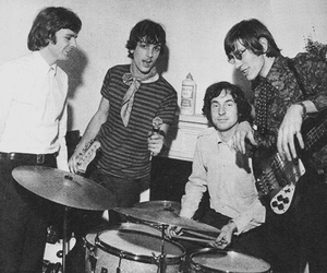 Pink Floyd, nick mason, and roger waters image