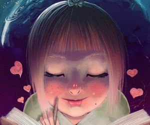 girl, illustration, and art image
