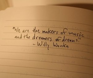 quote, Willy Wonka, and text image