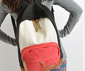 backpack and canvas image