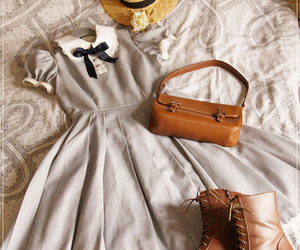 bag, hat, and boots image