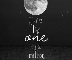 moon, quote, and text image