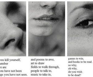 quotes, suicide, and sad image