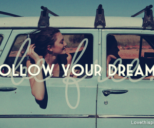 Dream, follow, and car image
