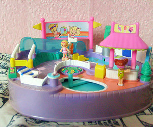 90's, mattel, and pool image