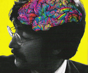 john lennon, brain, and the beatles image