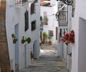 balconies, spain, and andulsia image