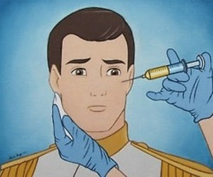 prince, disney, and botox image