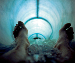 water, feet, and photography image