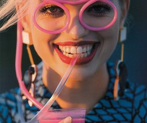 pink, daphne groeneveld, and model image