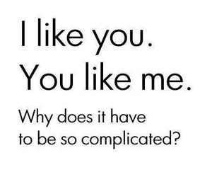 love, complicated, and text image