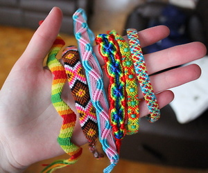 bracelets, colorful, and cool image