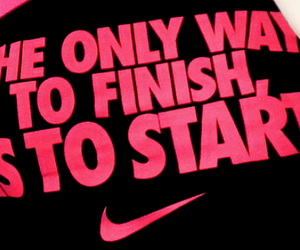 nike, motivation, and quote image