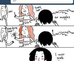 flower, harry potter, and severus snape image