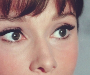 audrey hepburn, eyes, and vintage image