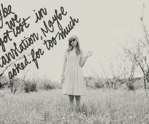 Taylor Swift, Lyrics, and red image