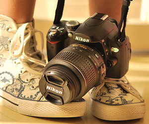 camera and shoes image