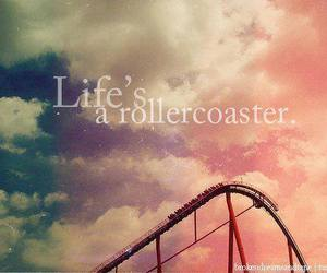 life, photos, and rollercoaster image