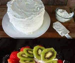 cake, food, and summer image