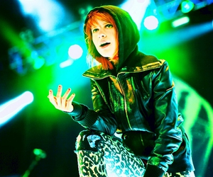 green, hayley williams, and paramore image
