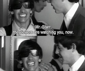 ringo starr, the beatles, and Paul McCartney image