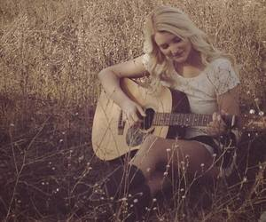 blonde, boots, and chords image