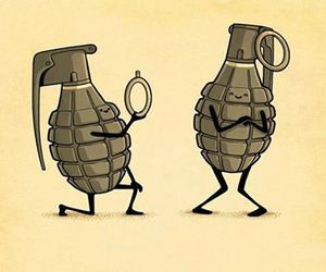 fun, Grenade, and love image