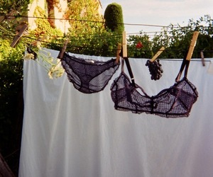 underwear, black, and lingerie image