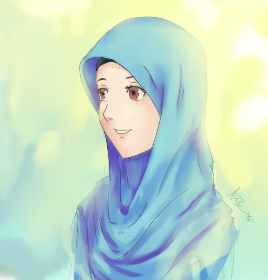 25 images about anime hijab we love islam on we heart it see more about hijab anime and muslim