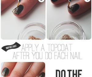 diy, nails, and simple image