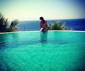 amazing, girl, and pool image