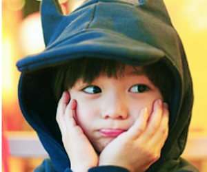 asian, hoodie, and child image