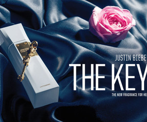 perfume, the key, and rose image