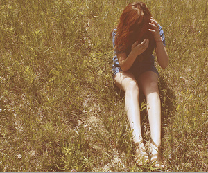 alone, girl, and summer image