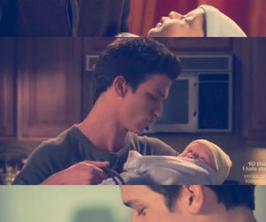 daren kagasoff, father and son, and sweet image