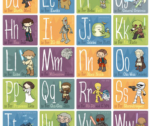 alphabet, lol, and star wars image