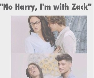 one direction, veronica, and Harry Styles image