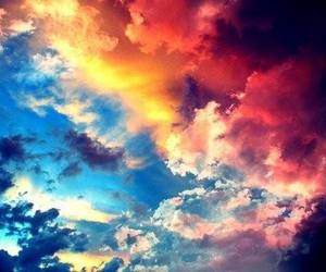 sky, clouds, and colorful image
