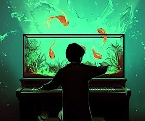 art and piano image
