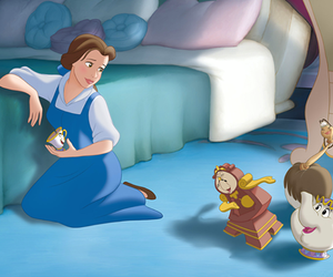 disney and belle image