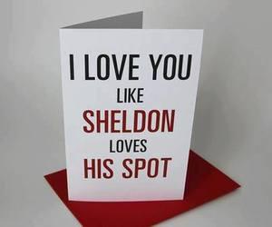 love, sheldon, and spot image