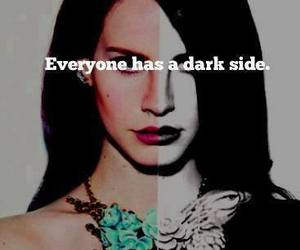 lana del rey, dark, and dark side image