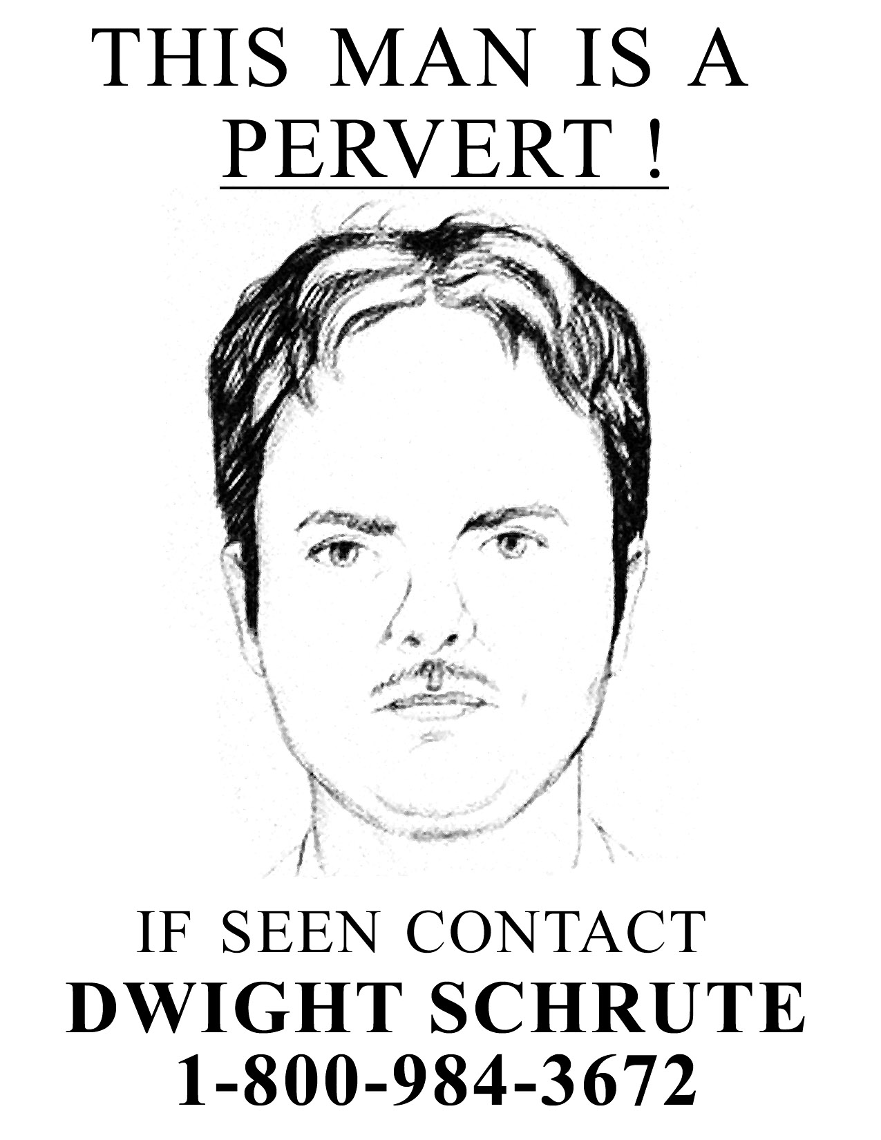 The office posters Michael Scarn The Hathor Legacy This Man Is Pervert Dwight Schrute Photo 400254 Fanpop