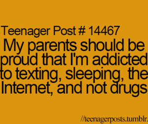 addicted, the truth, and teenagerposts image