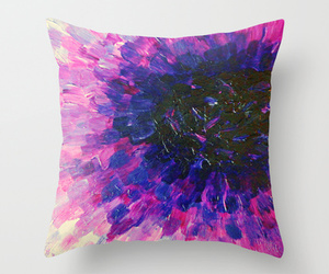 abstract art, Abstract Painting, and aubergine image