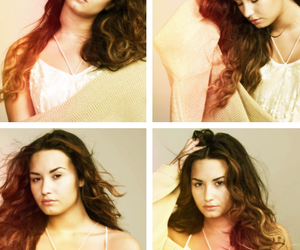 demi lovato, flawless, and glamour magazine image