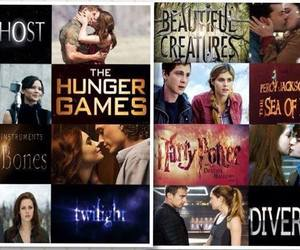 crepusculo, the hunger games, and beautiful creatures image