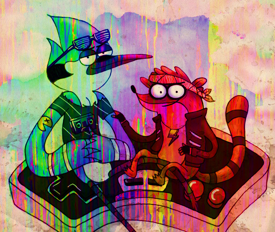 30 Images About Mordecai And The Rigbys On We Heart It See More