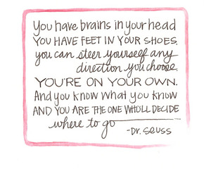 quote, brains, and life image